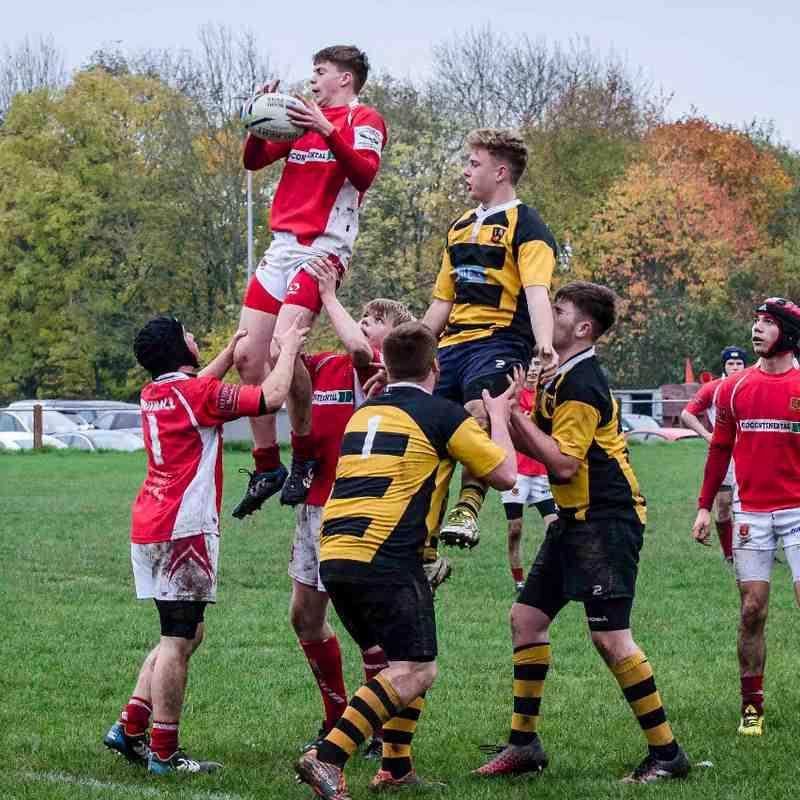 Whitchurch U16's v Telford 30 Oct 2016