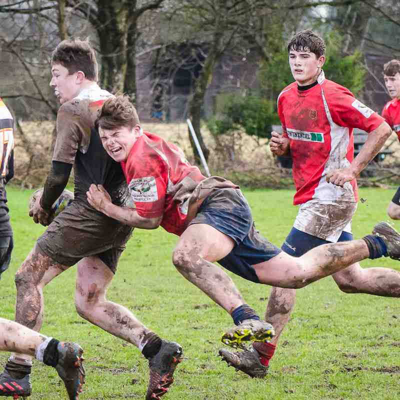 Whitchurch U16's v Crewe and Nantwich 29 Jan 2017