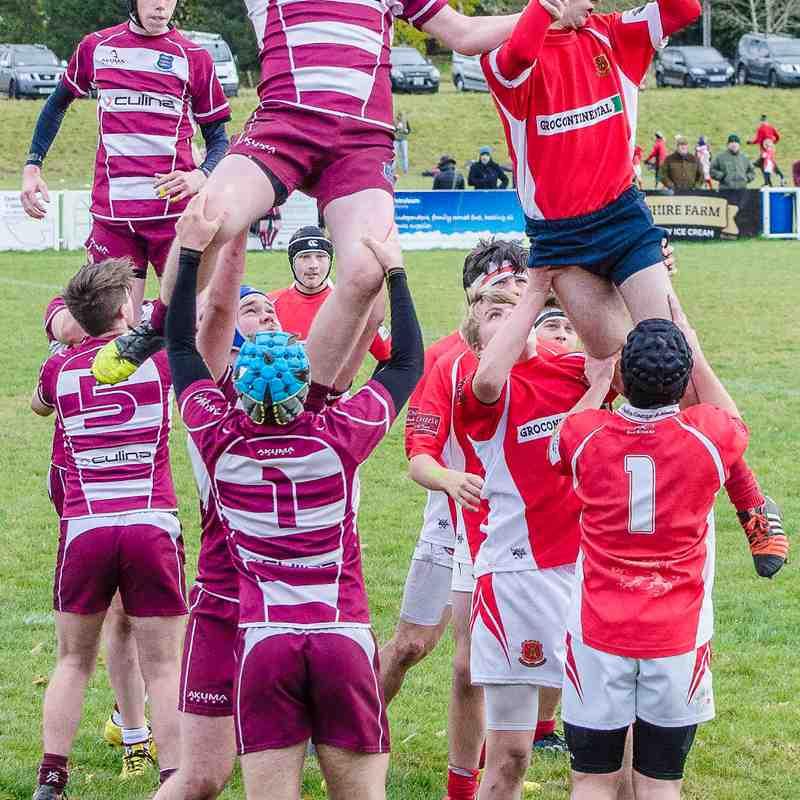 Whitchurch U16's v Newport U16's 6 Nov 2016