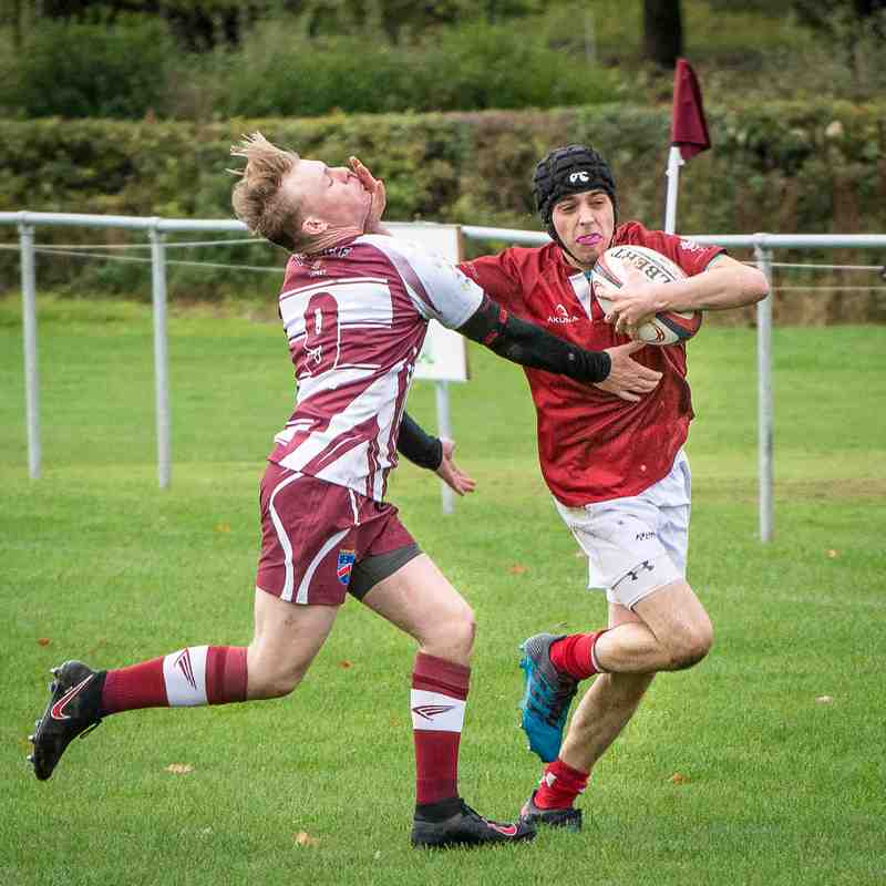 Whitchurch U18s Colts v Wirral 14Oct 2018