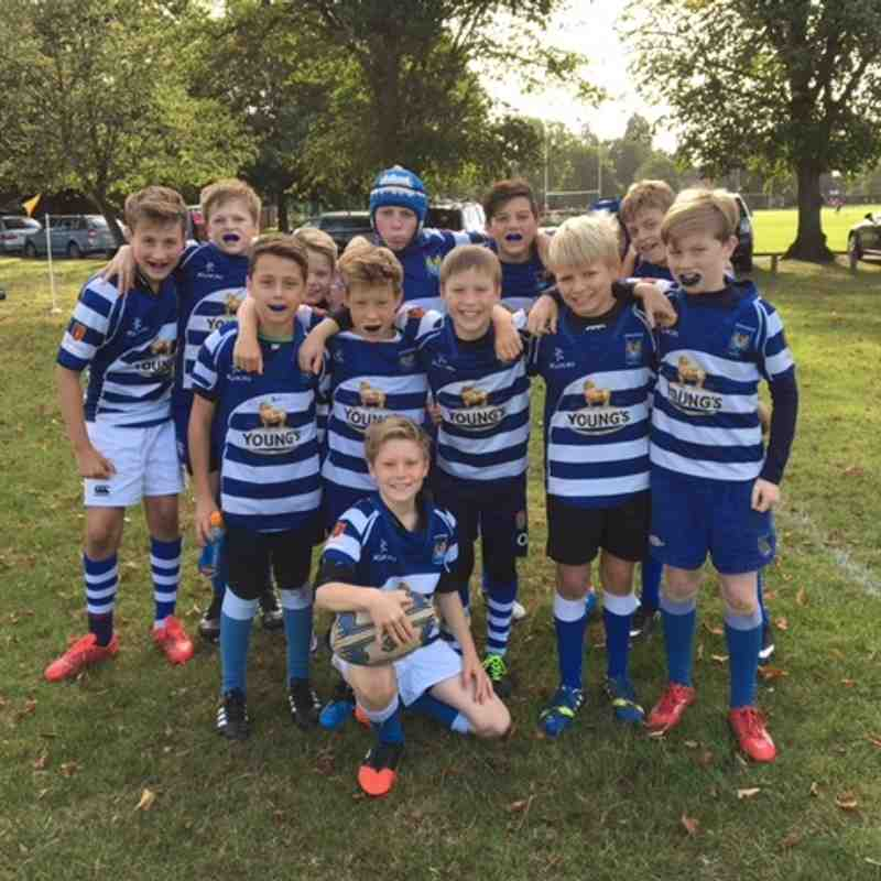 Haslemere A vs Camberley A 25 Sep 2016