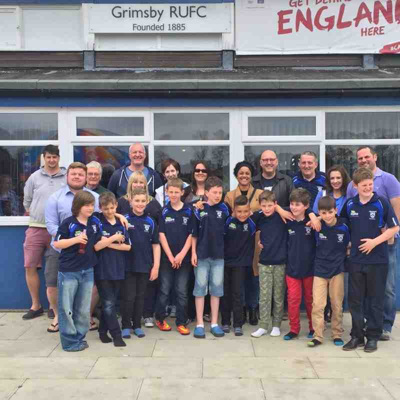 U10s Rugby family
