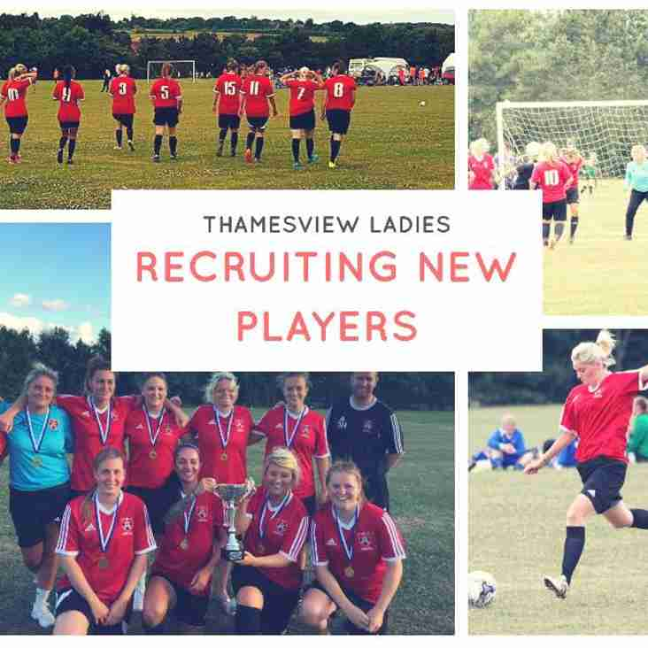 Ladies Players Wanted!!