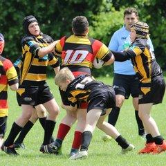 U12s v pilkington Rec's 14th May 2