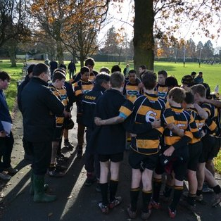 U15's League Game  against Reeds a real challenge . . .