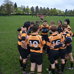 U15's close victory vs London Welsh
