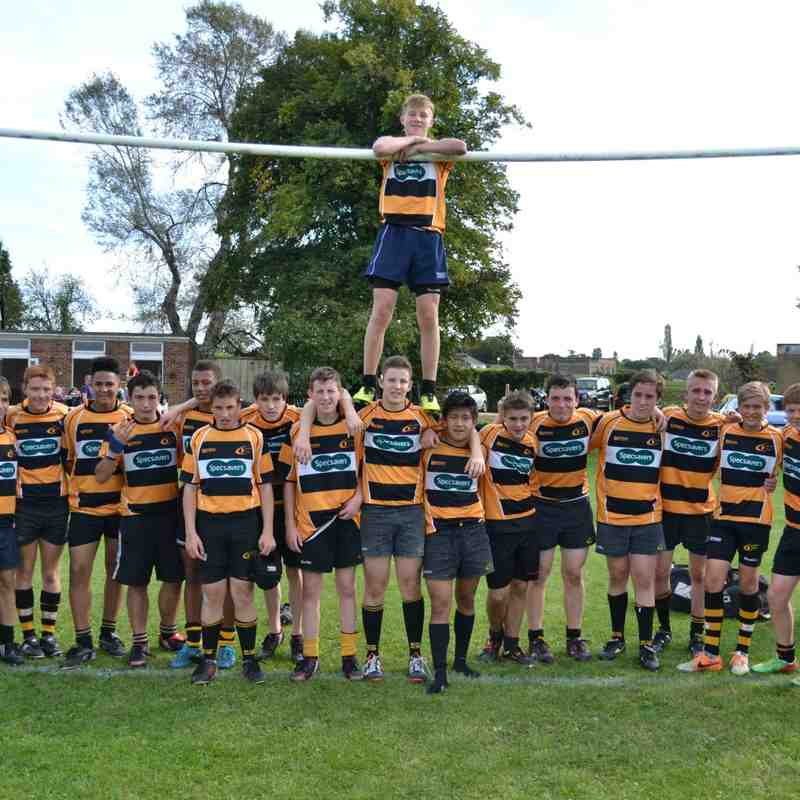 U16s Friendly vs Weybridge Vandals 280914