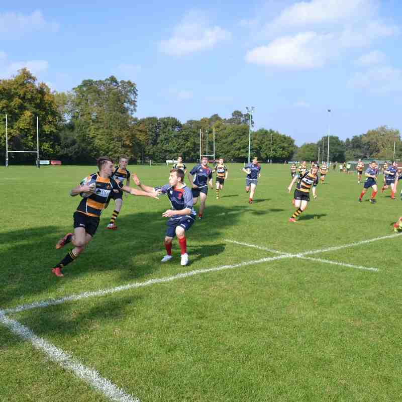 Academy Friendly vs London Scottish 04102015