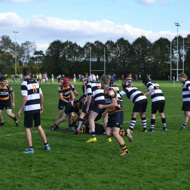U18 D 3 League Game vs Farnham 270915