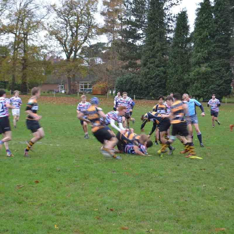 Academy Div 1 League Game Reeds 291115