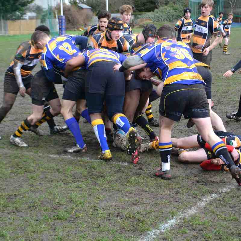 Academy D3 League Game vs Old Ruts 310117