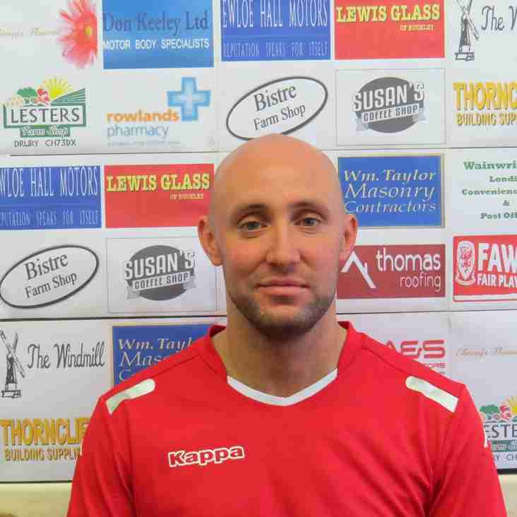 Tom Taylor's thoughts on Saturday's game against Gresford