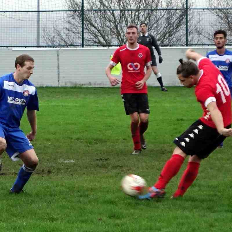 Buckley Town FC v Conwy Borough - 23rd January 2016
