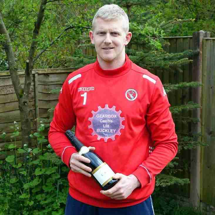 Player of the Month Winner for April