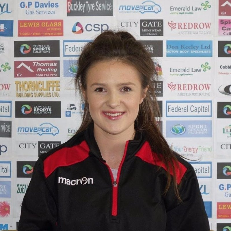 Buckley Town's Physio celebrates her degree success