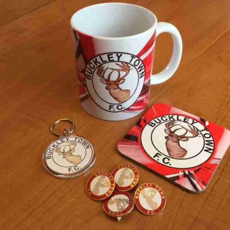Buckley Town FC merchandise now available