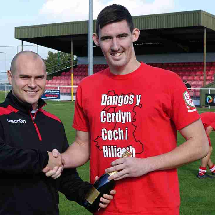 Buckley Town's player of the month