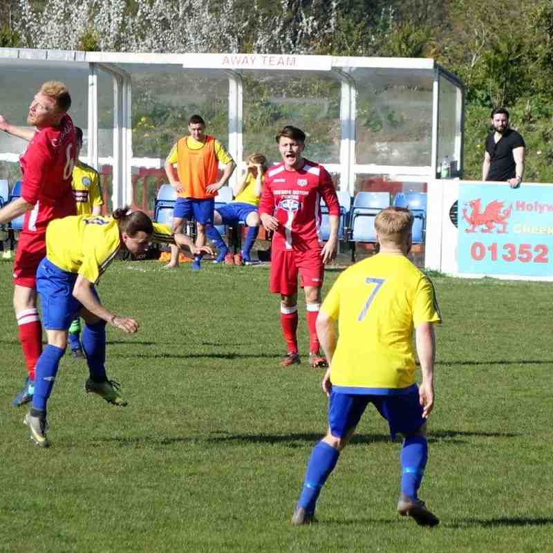 Holywell Town 3 Buckley Town 3