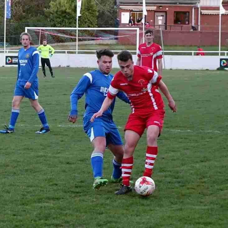 Buckley Town 6-2 Rhydymwyn after extra time in NEWFA cup quarter final.