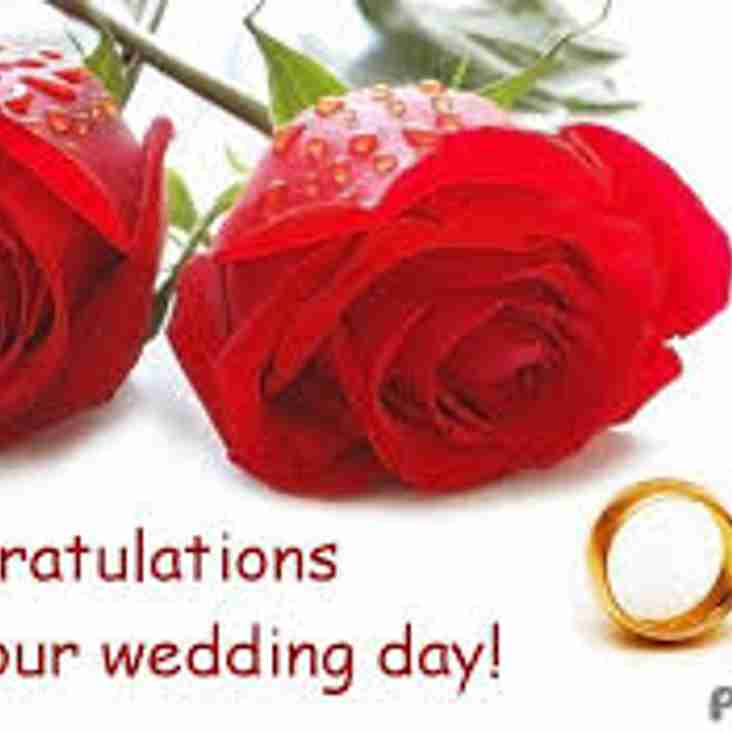 Congratulations to Chris Blackwell & Lynsey who were married today