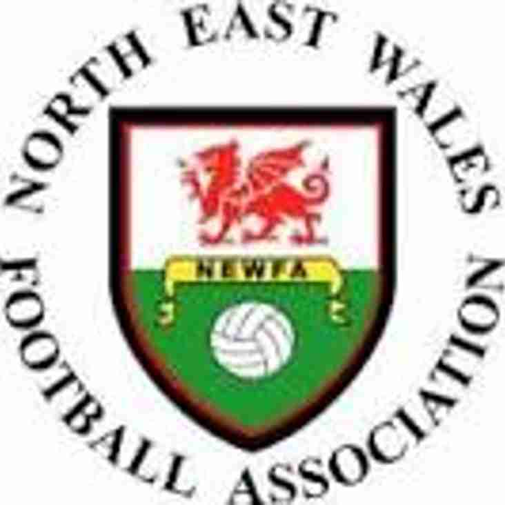Revised date for NEWFA Cup game round 2