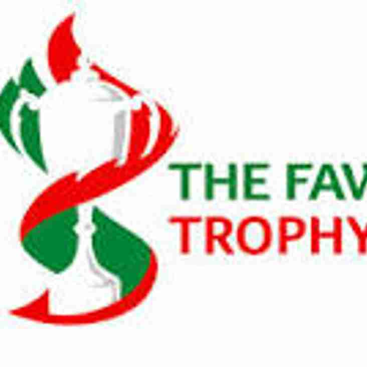Draw for round 2 of the FAW Trophy made today