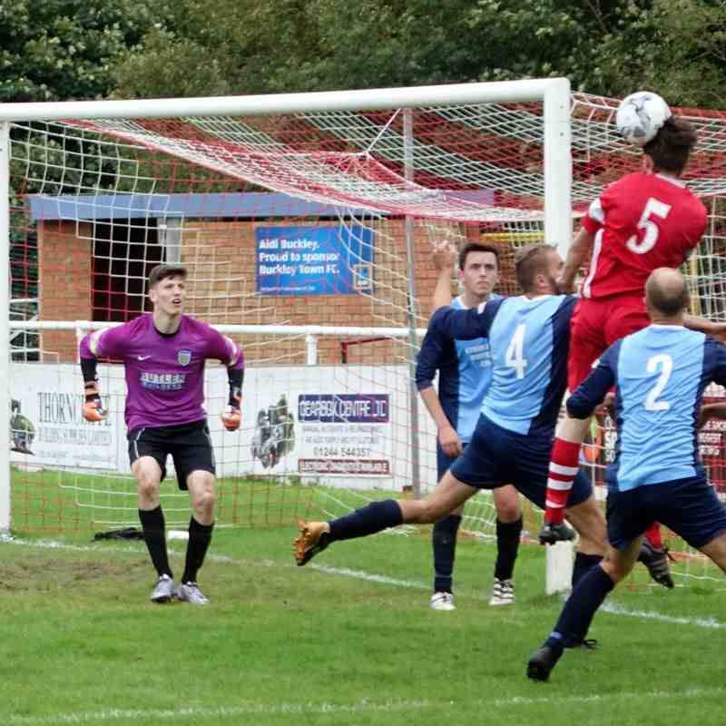 Buckley Town 4 Hawarden Rangers 0