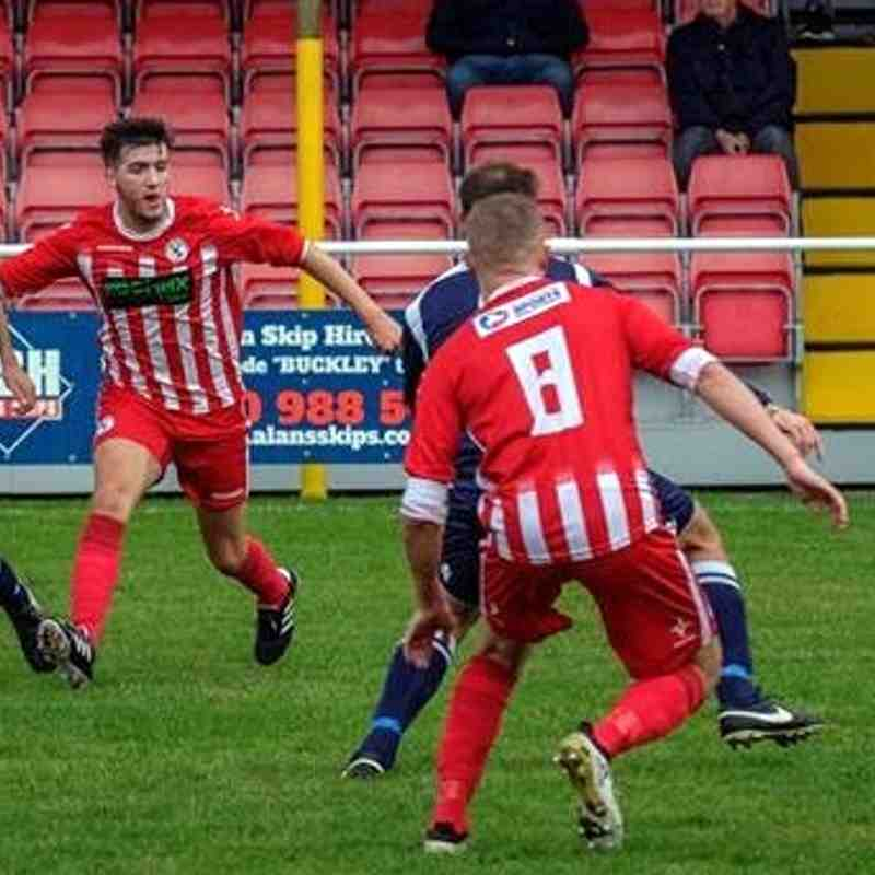 Buckley Town 5  Rhostyllen 0 ( Photos David Lewis)
