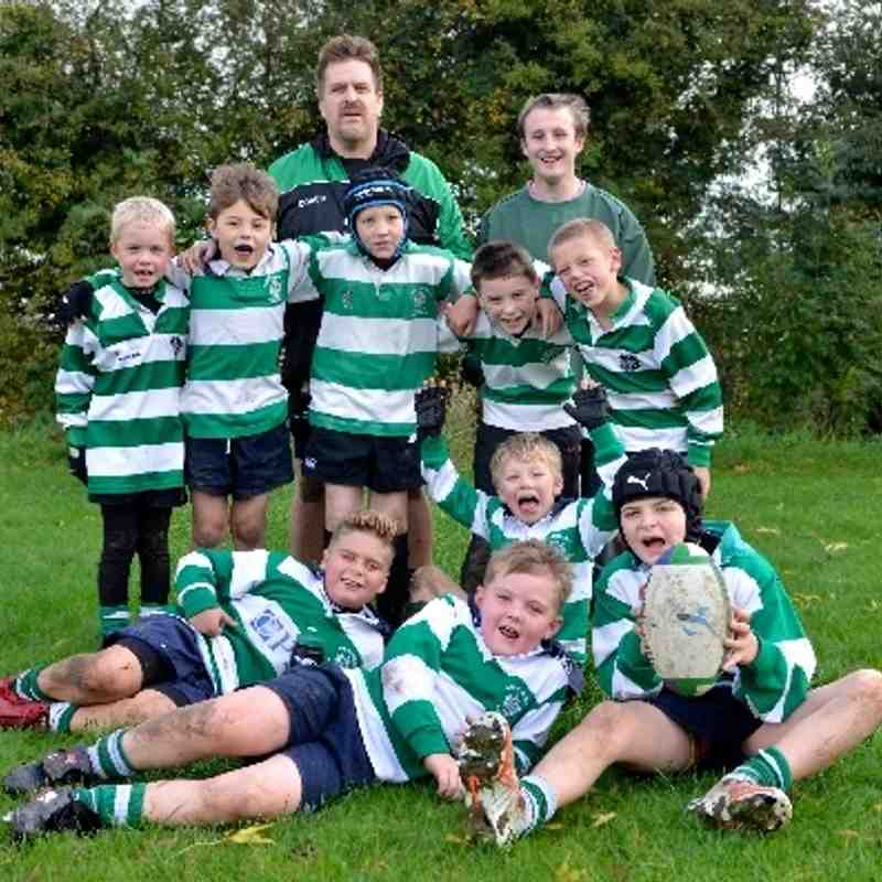 Under 9's SLRFC vs Stewart & Lloyds 27th Oct at home