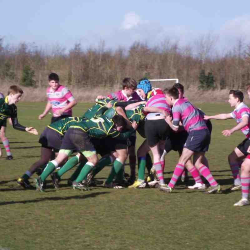 U15s Stags vs Olney