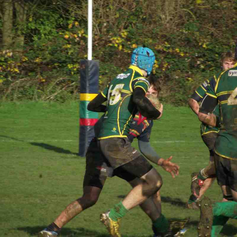 U16s Stags Vs Northampton Old Scouts 2014-11-30