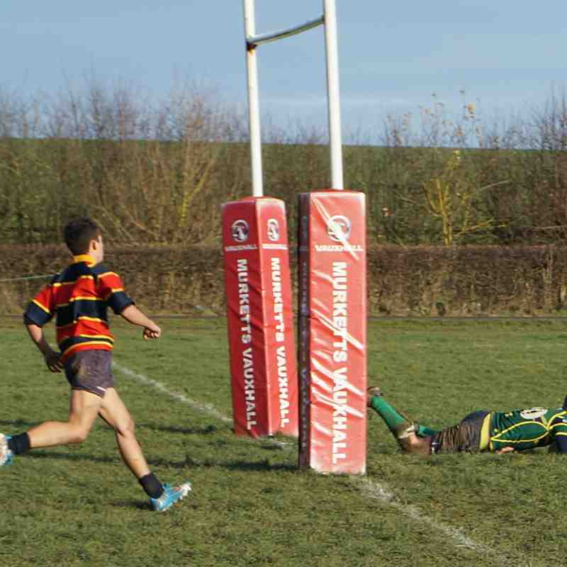 U16s vs Old Northamptonians 2014-12-14