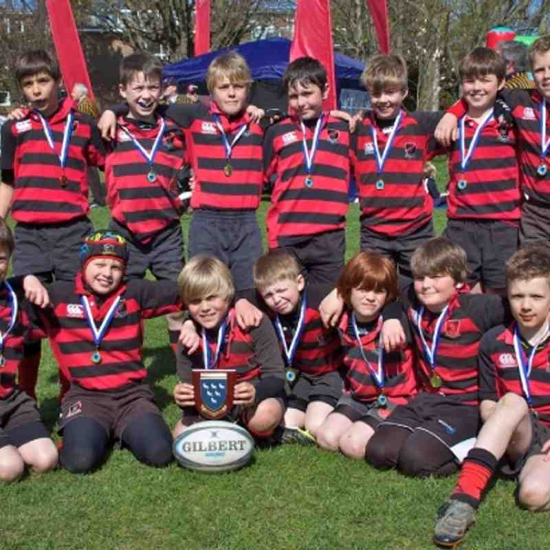 HHRFC U10 Sussex Champions 2012