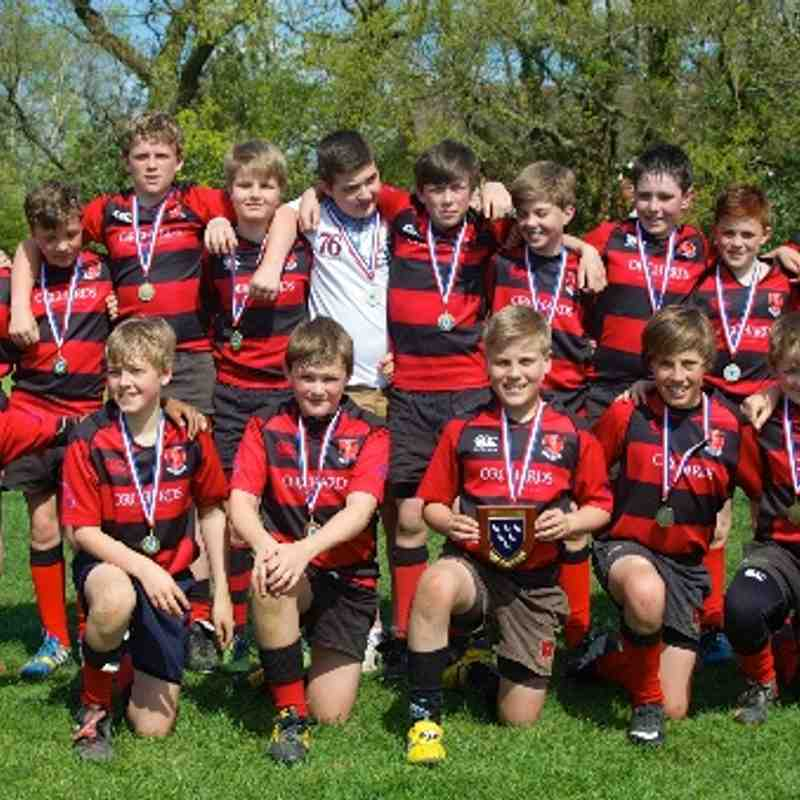 HHRFC U12 Sussex County Champions 2014