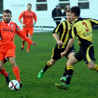 CONWY HELD TO GOALESS DRAW AT BUCKLEY