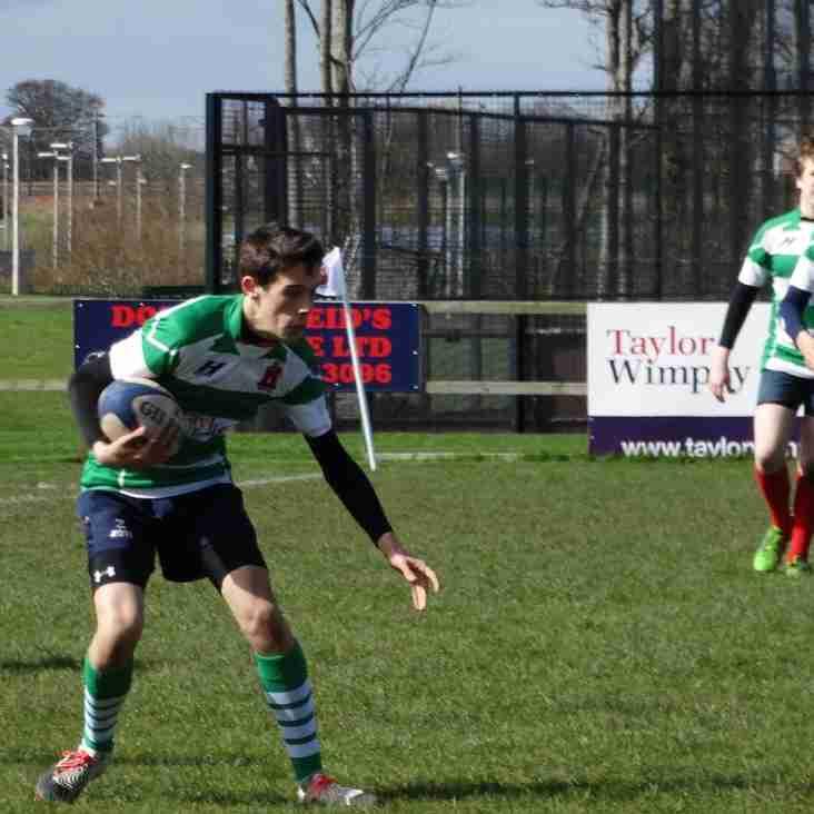Dunbar RFC host Skerries u15 at Hallhill
