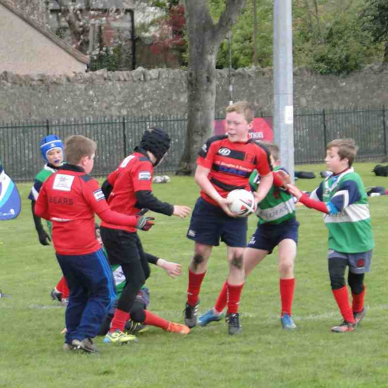 P5 Minis at Haddington tournament 01-05-2016