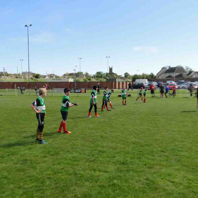 Dunbar P6 Mini tournament 15-05-2016