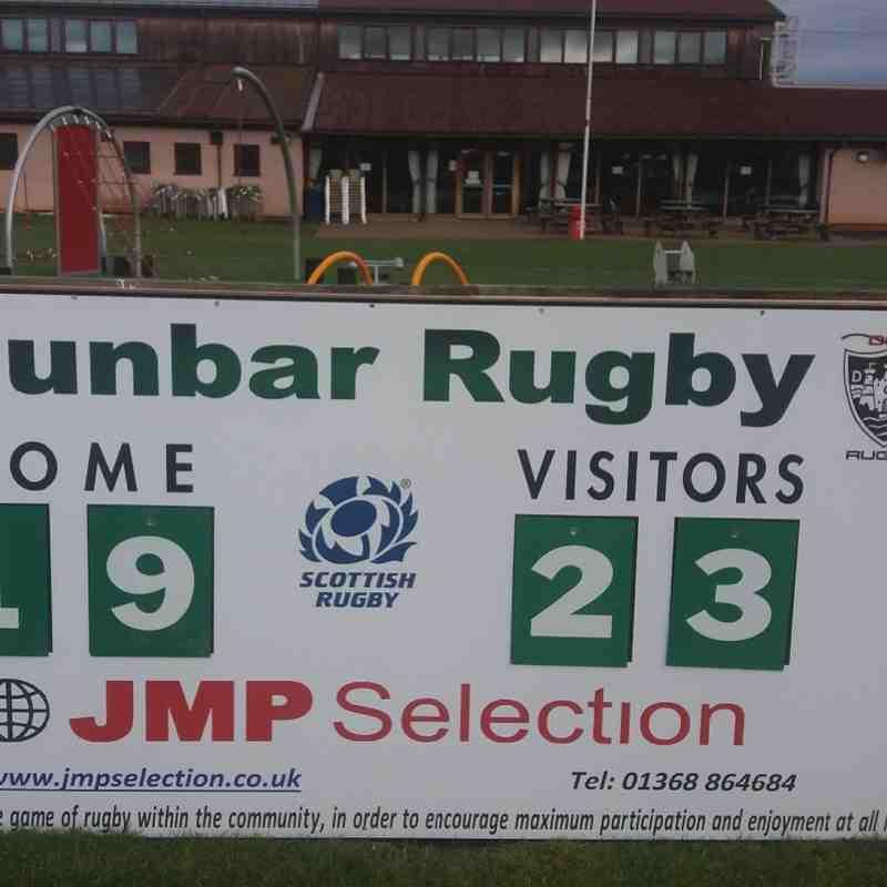 New Scoreboard at Hallhill