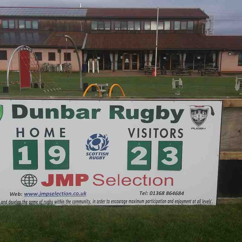 New Scoreboard at Hallhill