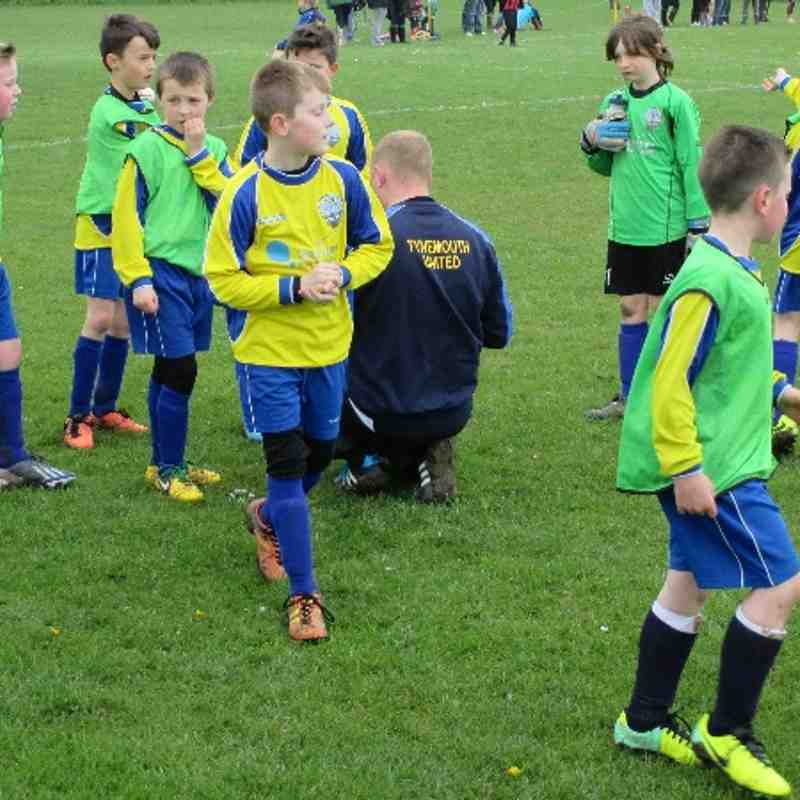 U 9s Wasps 26 April Football festival