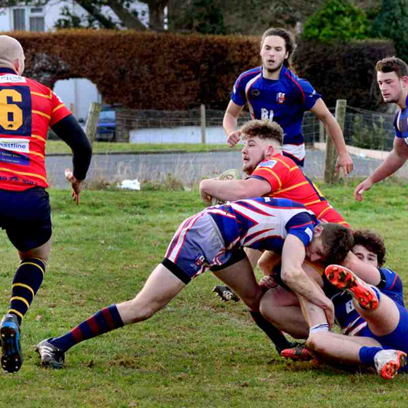 2nd XV vs Isle of Wight RFC 2nd XV
