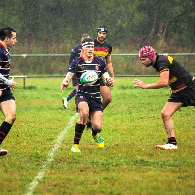 SSRFC vs Eastleigh RFC 2nd XV