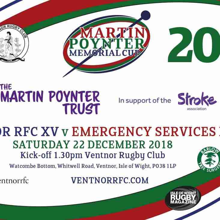 Martin Poyner Memorial Cup 2018