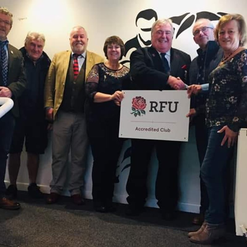 Sandown & Shanklin RFC Celebrate Prestigious RFU Accreditation