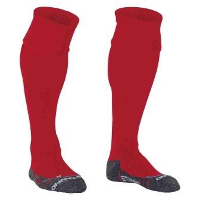Senior Socks - Red