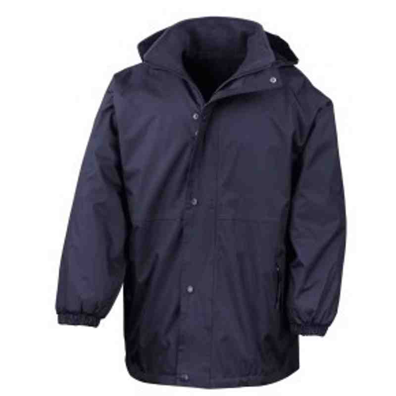 Senior Touchline Jacket - Navy
