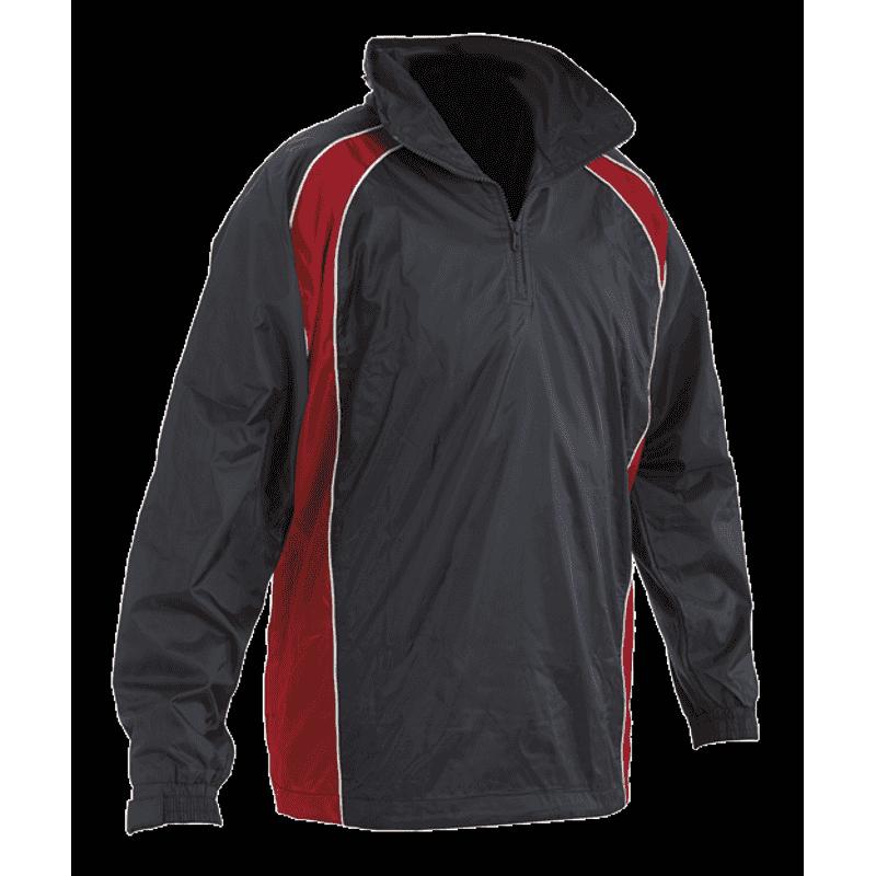 Senior Training Jacket - Navy/Red