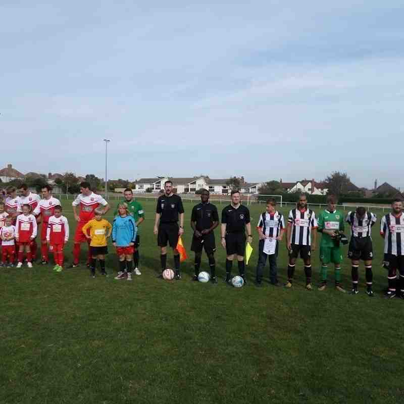 Seaford Town (away), F.A. Vase 2nd Round Qualifying, 24/9/16.