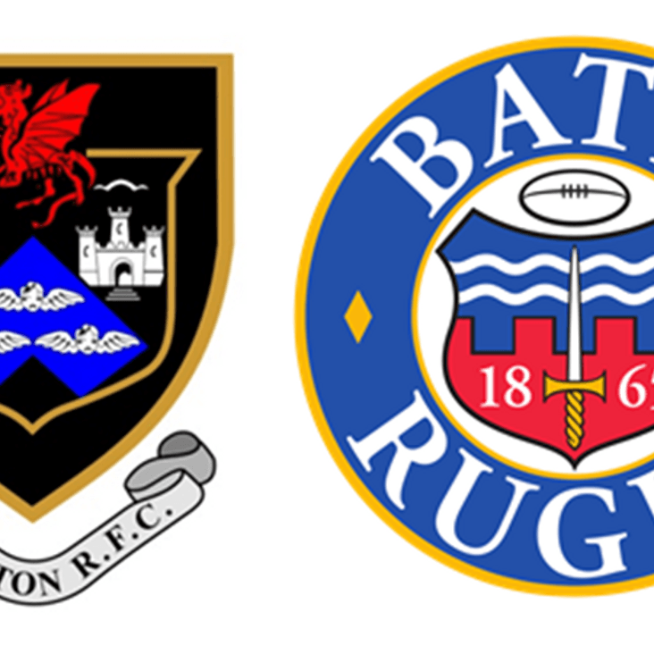 Taunton RFC Welcomes Bath RFC<